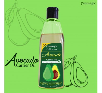 Coldpressed Avocado Carrier Oil