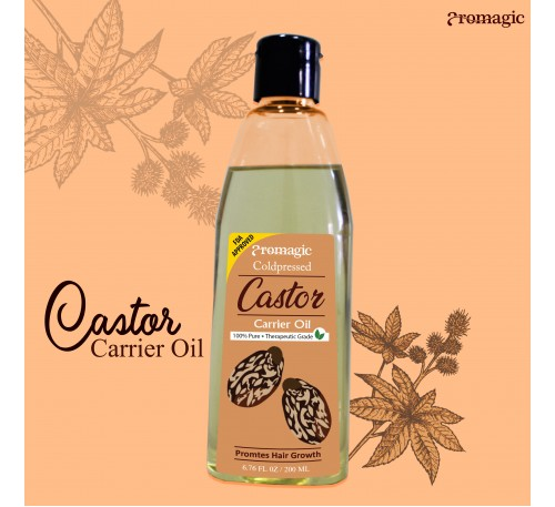 Coldpressed Castor Carrier Oil