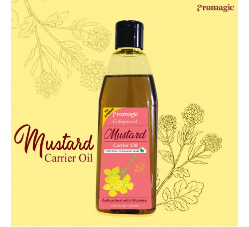 Coldpressed Mustard Carrier Oil