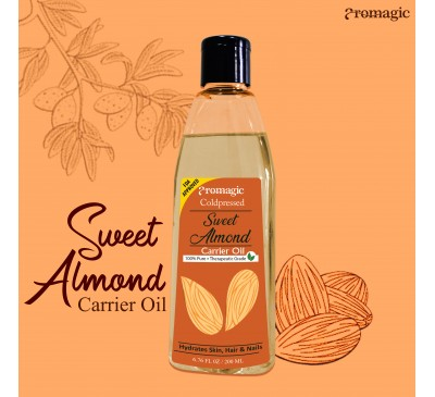 Coldpressed Sweet Almond Carrier Oil